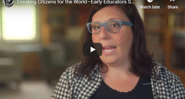 Creating Citizens for the World (Video)