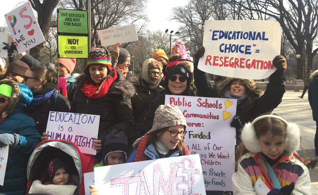 March for Education Justice